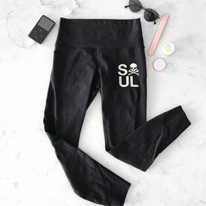 Lululemon] SoulCycle Lululemon Leggings in Black